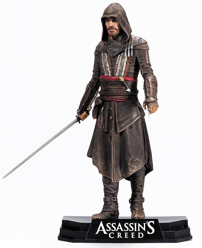 Фигурка Assassins Creed. Movie Aguilar (17 см)Представляем вашему вниманию фигурку Assassins Creed. Movie Aguilar, коллекционную фигурку главного персонажа фильма «Кредо убийцы» в исполнении Майкла Фассбендера.<br>