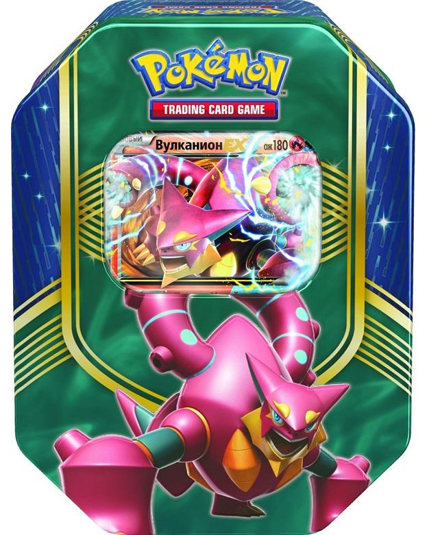 Коллекционный набор Pokemon XY. ВулканионПредставляем вашему вниманию коллекционный набор Pokemon XY. Вулканион, с которым ваша колода станет еще сильнее.<br>