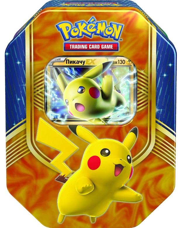 Коллекционный набор Pokemon XY. ПикачуПредставляем вашему вниманию коллекционный набор Pokemon XY. Пикачу, с которым ваша колода станет еще сильнее.<br>