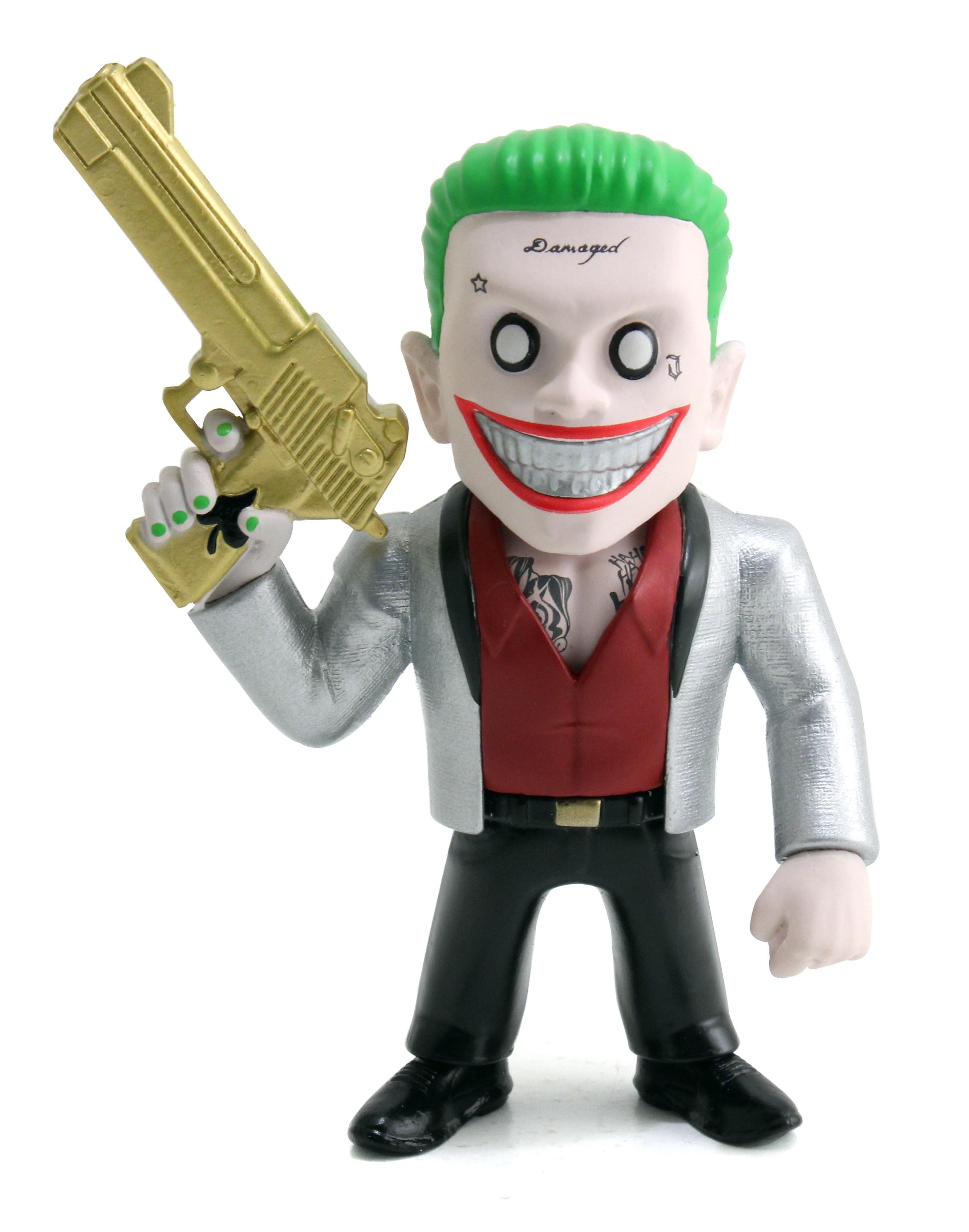 Коллекционная металлическая фигурка DC Comics: Джокер – Отряд Самоубийц – Suicide Squad Joker Boss (10 см)Представляем вашему вниманию коллекционную металлическую фигурку Джокер: Отряд Самоубийц – Suicide Squad Joker Boss, созданную по мотивам супергеройского боевика режиссёра Дэвида Эйера, который является экранизацией одноимённых комиксов издательства DC Comics.<br>