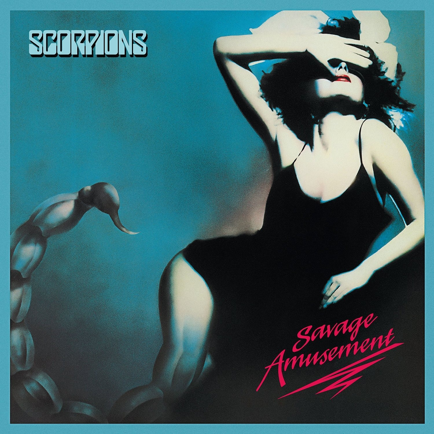 Scorpions. Savage Amusement (LP + CD) sega