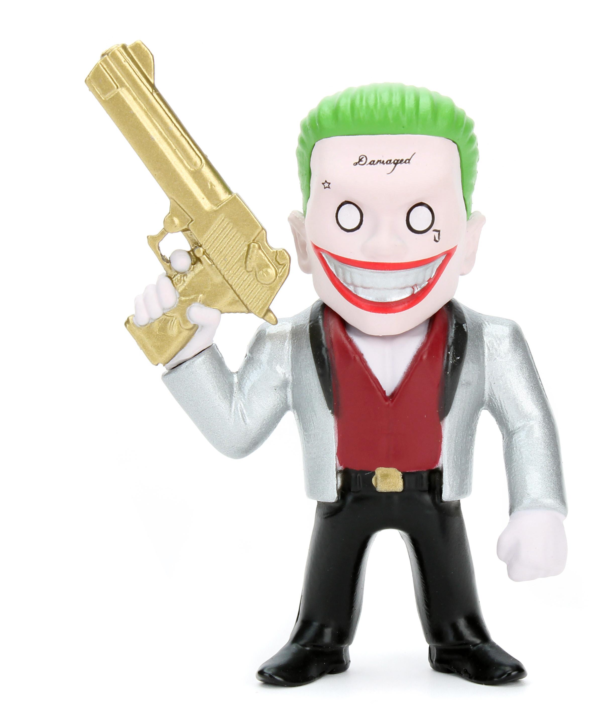 Коллекционная металлическая фигурка DC Comics: Джокер – Отряд Самоубийц – Suicide Squad Joker Boss (6 см)Представляем вашему вниманию коллекционную металлическую фигурку Джокер: Отряд Самоубийц – Suicide Squad Joker Boss, созданную по мотивам супергеройского боевика режиссёра Дэвида Эйера, который является экранизацией одноимённых комиксов издательства DC Comics.<br>