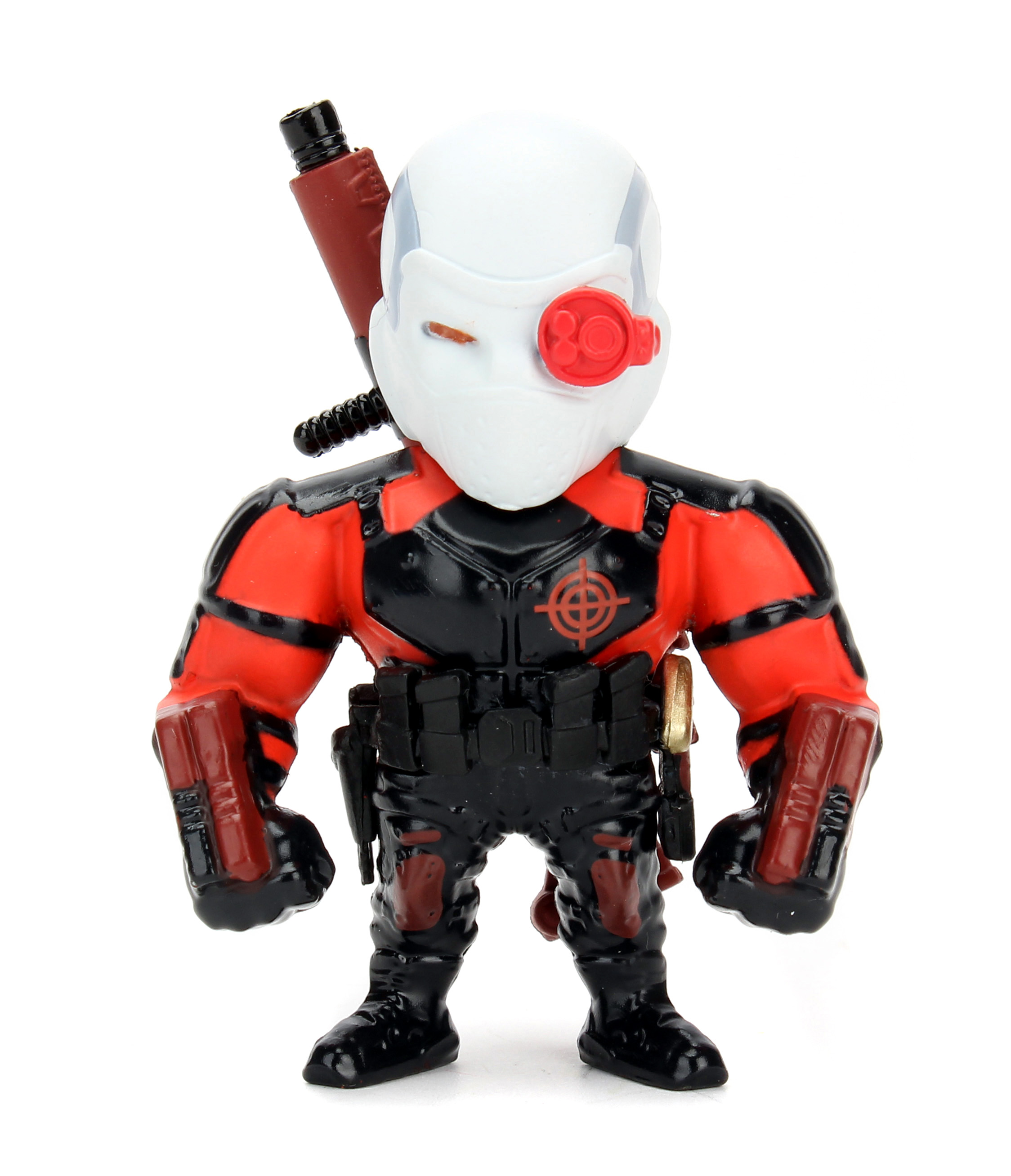 Коллекционная металлическая фигурка Дэдшот: Отряд Самоубийц – Suicide Squad Deadshot (6 см)Представляем вашему вниманию коллекционную металлическую фигурку Дэдшот: Отряд Самоубийц – Suicide Squad Deadshot, созданную по мотивам супергеройского боевика режиссёра Дэвида Эйера, который является экранизацией одноимённых комиксов издательства DC Comics.<br>