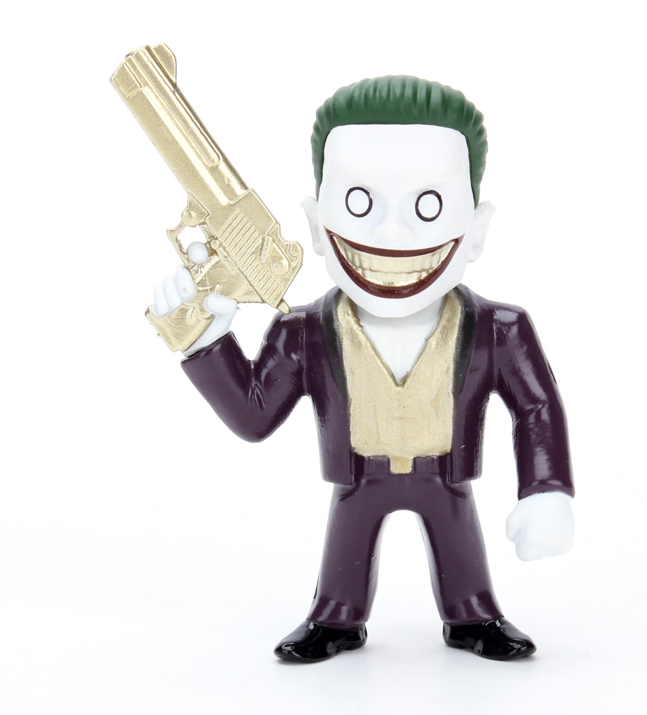 Коллекционная металлическая фигурка DC Comics: Джокер – Отряд Самоубийц – Suicide Squad Joker Boss Alternate Version (6 см)Представляем вашему вниманию коллекционную металлическую фигурку Джокер: Отряд Самоубийц – Suicide Squad Joker Boss Alternate Version, созданную по мотивам супергеройского боевика режиссёра Дэвида Эйера, который является экранизацией одноимённых комиксов издательства DC Comics.<br>
