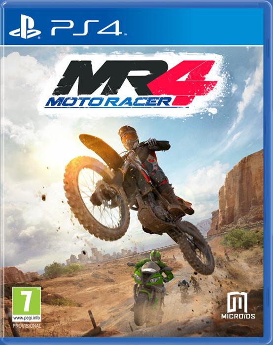 Moto Racer 4 (поддержка VR) [PS4]