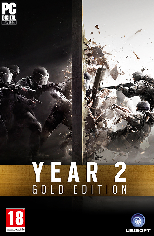 Tom Clancy's Rainbow Six: Осада Gold Edition Year 2 (Цифровая версия) рюкзак case logic 17 3 prevailer black prev217blk mid