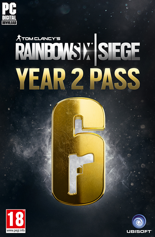 Tom Clancy's Rainbow Six: Осада – Year 2 Pass. Дополнительные материалы (Цифровая версия)