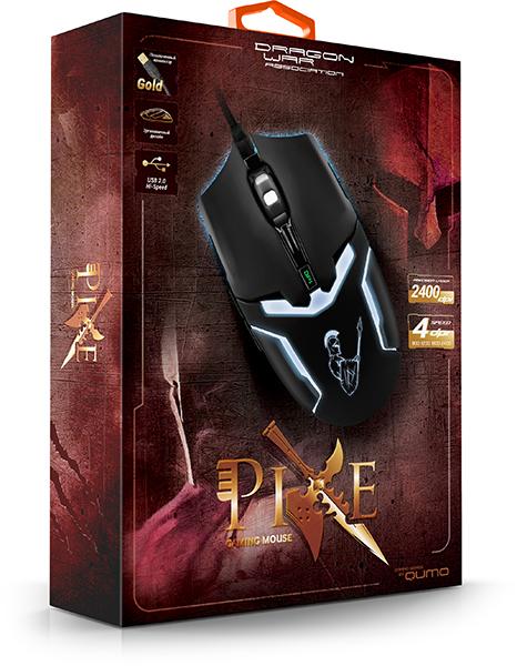 Мышь Qumo Dragon War Pike проводная оптическая для PC