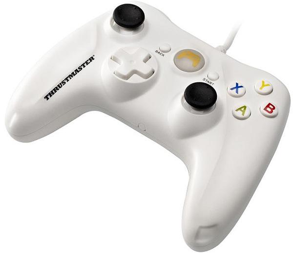 Геймпад Thrustmaster GP XID White для PCИгровой пульт Thrustmaster XID поддерживает подключение типа Plug &amp; Play и распознается ОС Windows® и ПК-играми напрямую!<br>