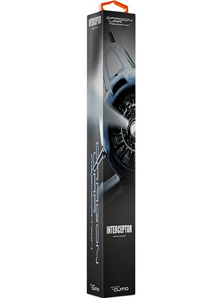 Коврик для мыши Dragon War InterceptorКоврик Dragon War Interceptor &amp;ndash; идеальная игровая поверхность для геймера: невероятная отзывчивость сенсора мыши, нулевое скольжение коврика по столу! Сотовая микро-текстура для экстремальной точности отслеживания сенсора мыши. Ультра-тонкий профиль &amp;ndash; всего 3 мм толщиной.<br>