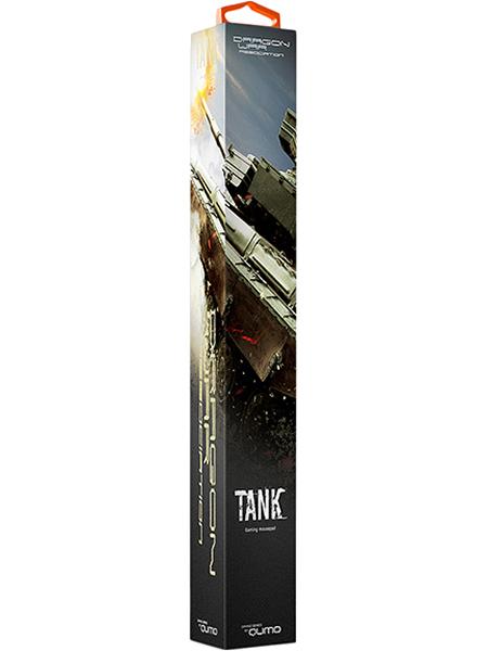 Коврик для мыши Dragon War TankКоврик Dragon War Tank &amp;ndash; идеальная игровая поверхность для геймера: невероятная отзывчивость сенсора мыши, нулевое скольжение коврика по столу! Сотовая микро-текстура для экстремальной точности отслеживания сенсора мыши. Ультра-тонкий профиль &amp;ndash; всего 3 мм толщиной.<br>