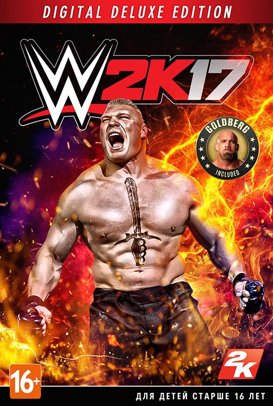 WWE 2K17 Digital Deluxe (Цифровая версия)Добро пожаловать в Suplex City, появившийся на свет при содействии Superstar Brock Lesnar! WWE 2K17 – действующий чемпион флагманской серии видеоигр о реслинге! --&gt;<br>