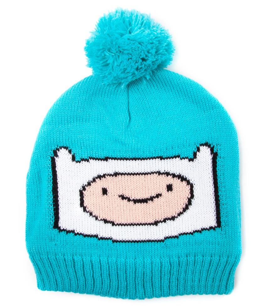 Шапка с помпоном Adventure Time: Finn