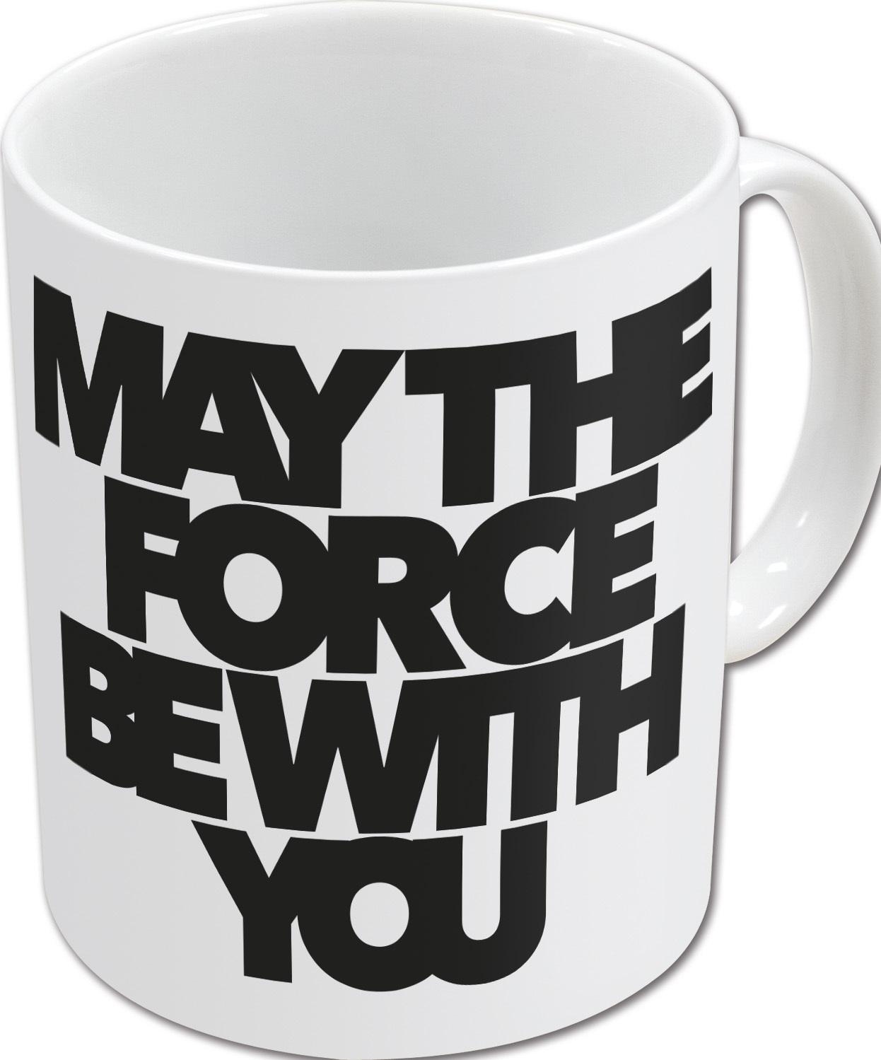 Кружка Звёздные войны: Да пребудет с тобой сила (325 мл)Кружка Звёздные войны: Да пребудет с тобой сила создана по мотивам популярной космической саги «Star Wars».<br>