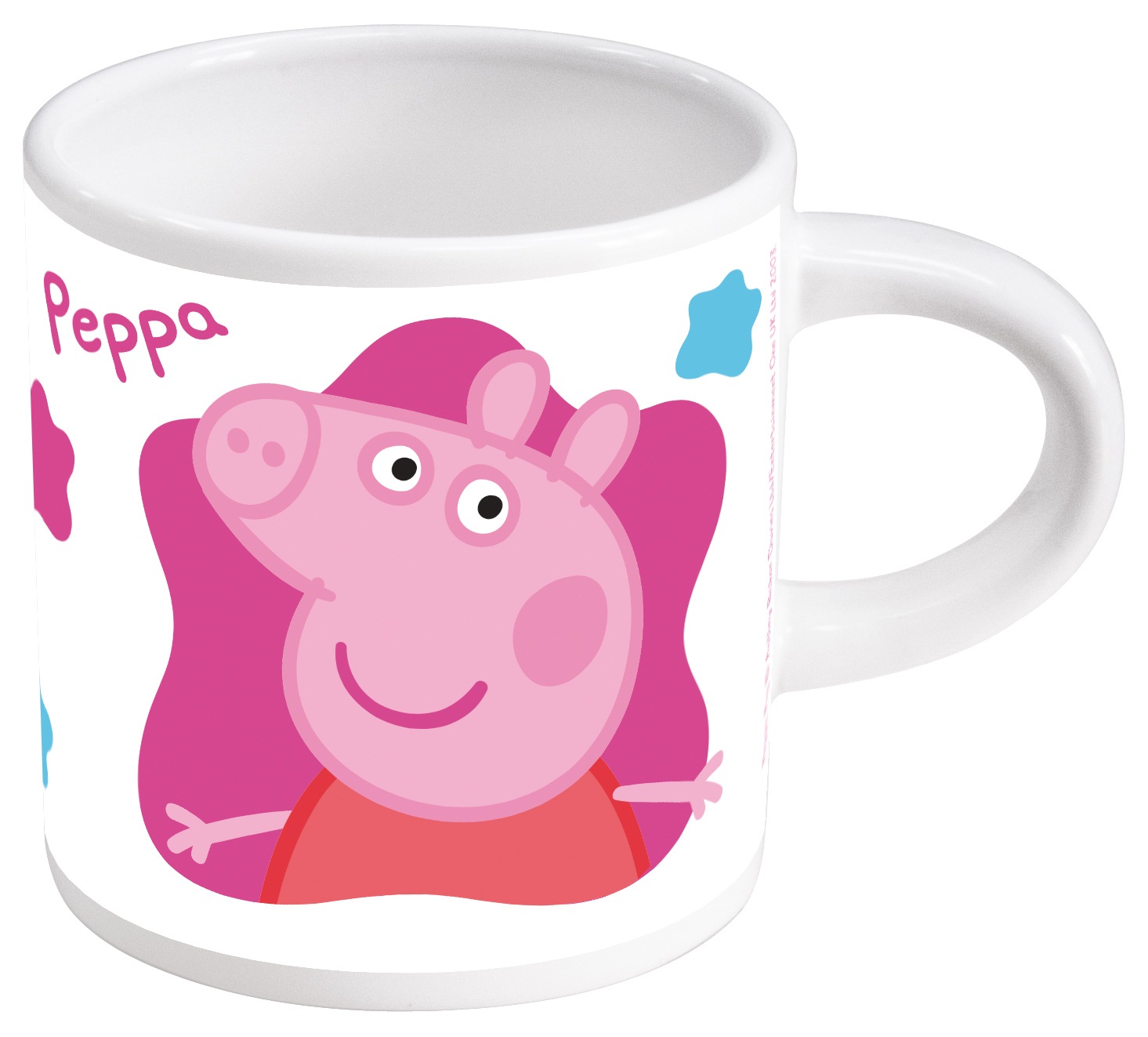 Кружка Свинка Пеппа (220 мл)Кружка Свинка Пеппа создана по мотивам британского мультсериала, рассказывающего о симпатичной маленькой свинке, которая живет вместе со своими Мамой Свинкой, Папой Свином и маленьким братиком Джорджем.<br>