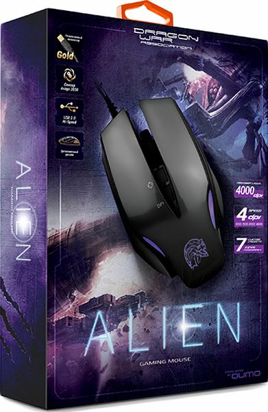 Мышь Qumo Dragon War Alien проводная оптическая для PC