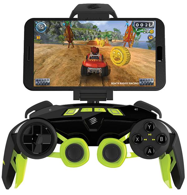 Геймпад беспроводной для смартфона Mad Catz L.Y.N.X. 3 Mobile GamepadГейпады L.Y.N.X. получили множество наград за инженерные решения и дизайн. Вдохновение разработчиков воплотилось в необычном внешнем виде и впечатляющей функциональности L.Y.N.X.9 – универсального геймпада с широчайшими возможностями использования и лучшим в своем классе функционалом.<br>