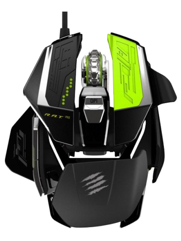 Проводная мышь Mad Catz R.A.T.PRO X Gaming Mouse – Pixart PMW 3310 для PCПроводная мышь Mad Catz R.A.T.PRO X Gaming Mouse &amp;ndash; это новое поколение высокопроизводительных игровых мышей. Легко заменяемые компоненты R.A.T.PRO X и огромное количество пользовательских настроек позволят вам всегда быть впереди соперников, и вы больше не променяете эту мышь ни на какую другую.<br>