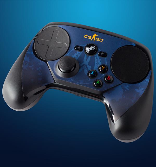 Комплект накладок CSGO Blue Camo для Steam ControllerЗащитите и придайте индивидуальность своему контроллеру при помощи накладок CSGO Blue Camo для Steam Controller! Ее легко наклеить, а также легко удалить, к тому же она отлично подогнана под размер контроллера! Инструкции прилагаются.<br>