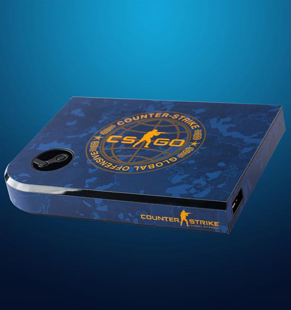 Комплект накладок CSGO Blue Camo для Steam Link