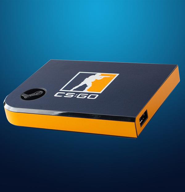 Комплект накладок CSGO Blue/Orange для Steam Link
