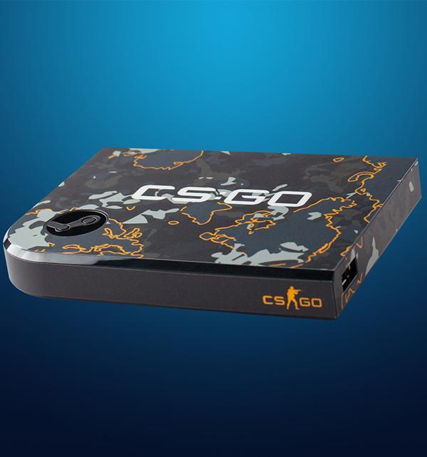 Комплект накладок CSGO Grey Camo для Steam Link