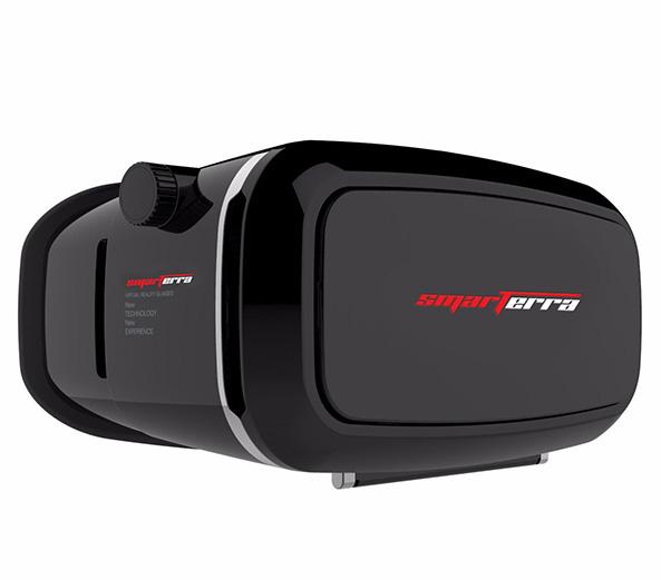 VR 3D очки Smarterra VR2 для смартфонов (черный)3D очки Smarterra VR открывают новую, виртуальную реальность, которая станет для вас бесконечным источником ярких, разноплановых ощущений!<br>