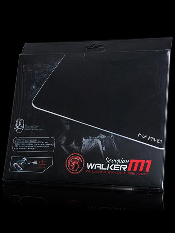 Коврик для мыши Marvo М1 игровой алюминиевый для PC от 1С Интерес