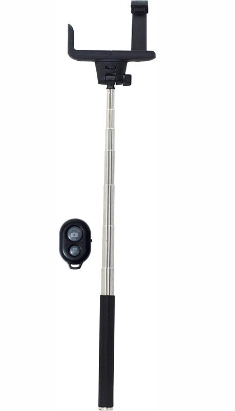 Монопод для селфи Smarterra X1 RS с пультом Bluetooth (черный)Монопод для селфи-съемки Smarterra X1 RS с пультом Bluetooth.<br>