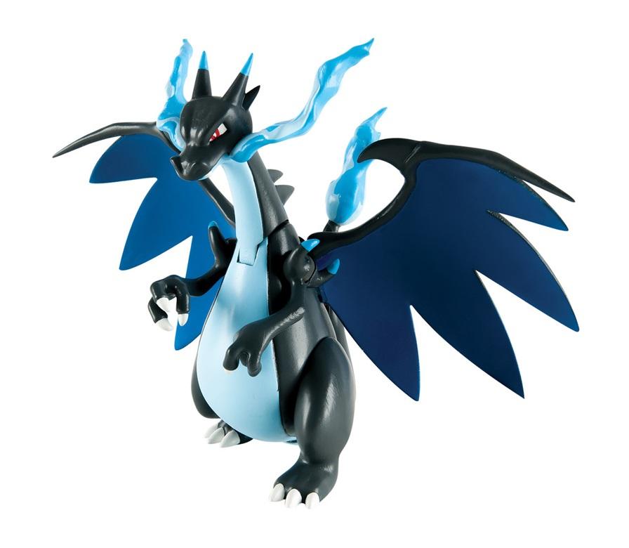 Фигурка Pokemon: Mega Charizard XНичто не сможет остановить могущественного Мега-Чаризарда Х высотой около 15,5 сантиметров и с 9 точками артикуляции!<br>
