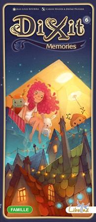 Настольная игра Диксит 6 (дополнение)Диксит 6 – новое дополнение к любимой игре, пожалуй, с самыми сказочными и светлыми картинками в серии Диксит! Недаром, оно получило название «Воспоминание». Вам предстоит удивительное приключение по волнам воображения, памяти и фантазии!<br>