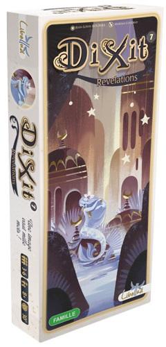 Настольная игра Диксит 7 (дополнение)Диксит 7 – дополнение к волшебной игре Диксит. В наборе 84 фантастические иллюстрации от нового художника Marina Coudray. Этот набор карт получил название Откровения.<br>
