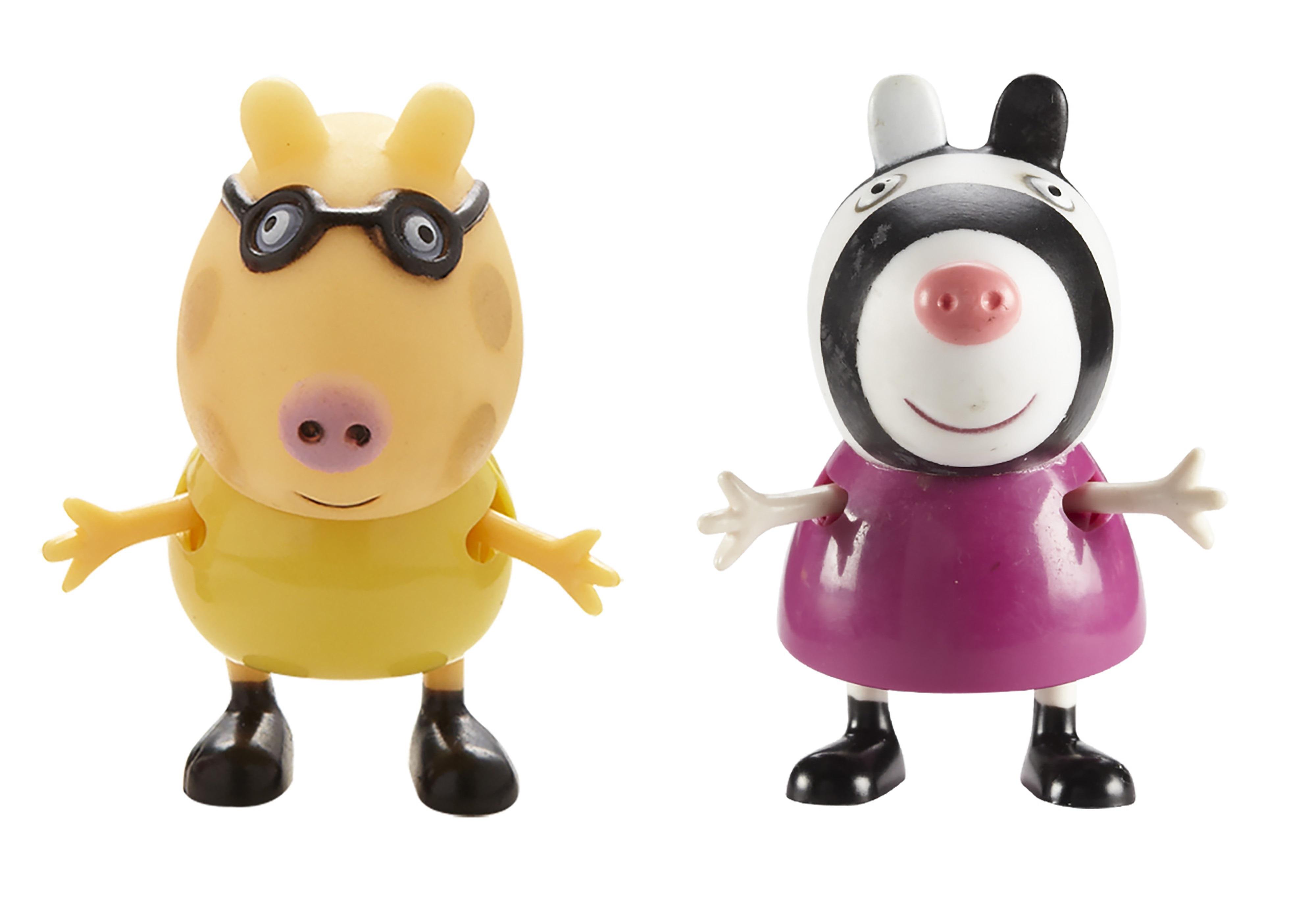 Набор фигурок Peppa Pig: Педро и ЗоиВаш малыш любит мультсериал Свинка Пеппа? Тогда вам идеально подойдет набор Педро и Зои с двумя очаровательными фигурками друзей веселой свинки.<br>