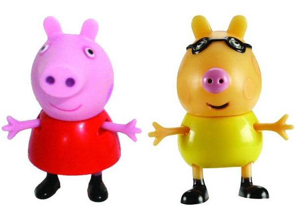 Набор фигурок Peppa Pig: Пеппа и ПедроВаш малыш любит мультсериал Свинка Пеппа? Тогда вам идеально подойдет набор Пеппа и Педро с двумя очаровательными фигурками друзей веселой свинки.<br>