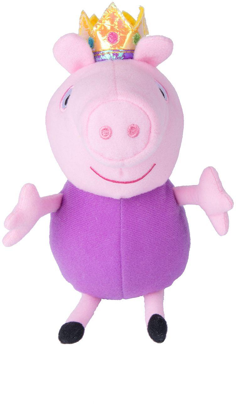 Мягкая игрушка Peppa Pig: Джордж-принц (20 см)Ваш малыш любит мультсериал Свинка Пеппа? Чудесная мягкая игрушка Джордж-принц станет вашему малышу отличным другом.<br>