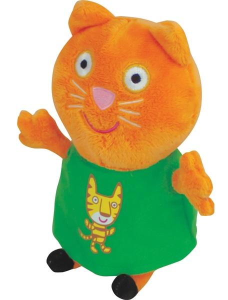 Мягкая игрушка Peppa Pig: Кенди с тигром (20 см) peppa pig мягкая игрушка джордж с динозавром 40см