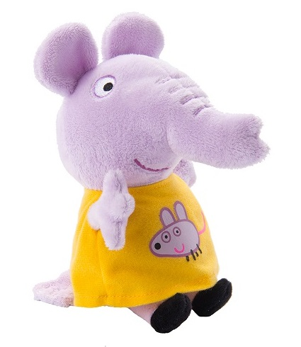 Мягкая игрушка Peppa Pig: Эмили с мышкой (20 см)Маленьким поклонникам мультфильма Свинка Пеппа не придется скучать с забавным Слоненком Эмили. С этой мягкой игрушкой можно задорно играть, ее приятно обнимать, а спать, обнимая любимого героя мультфильма, – одно удовольствие: все сны сразу становятся сладкими и безмятежными.<br>