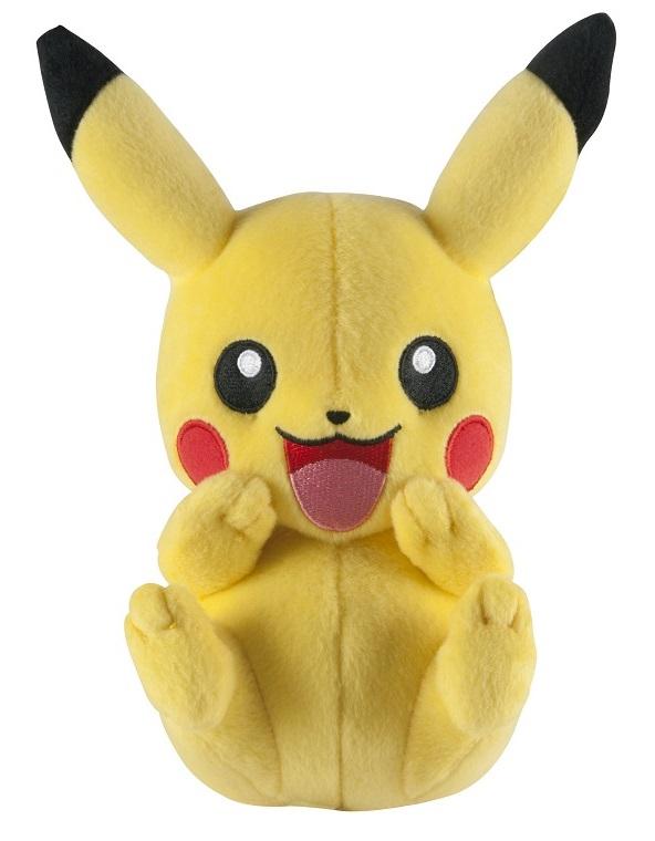 Мягкая игрушка Pokemon XY: Pikachu PlayingПлюшевая игрушка Пикачу, всеми любимого покемона электрического типа, которого можно взять с собой в любое приключение!<br>