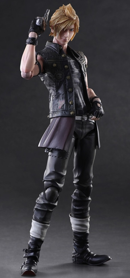 Фигурка Final Fantasy XV: Play Arts Kai Prompto (27 см)Лучший друг Ноктиса, Промпто, спешит к вам со своим заряженным пистолетом.<br>