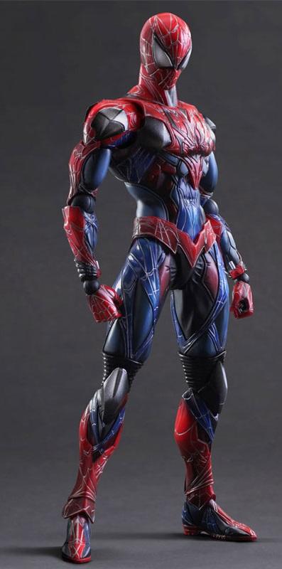 Фигурка Spiderman Variant Play Arts Kai (27 см)Новая фигурка Spiderman Variant способна воссоздать любой из образов легендарного героя, принимать любые позы, благодаря возможностям, вложенным создателями фигурки.<br>