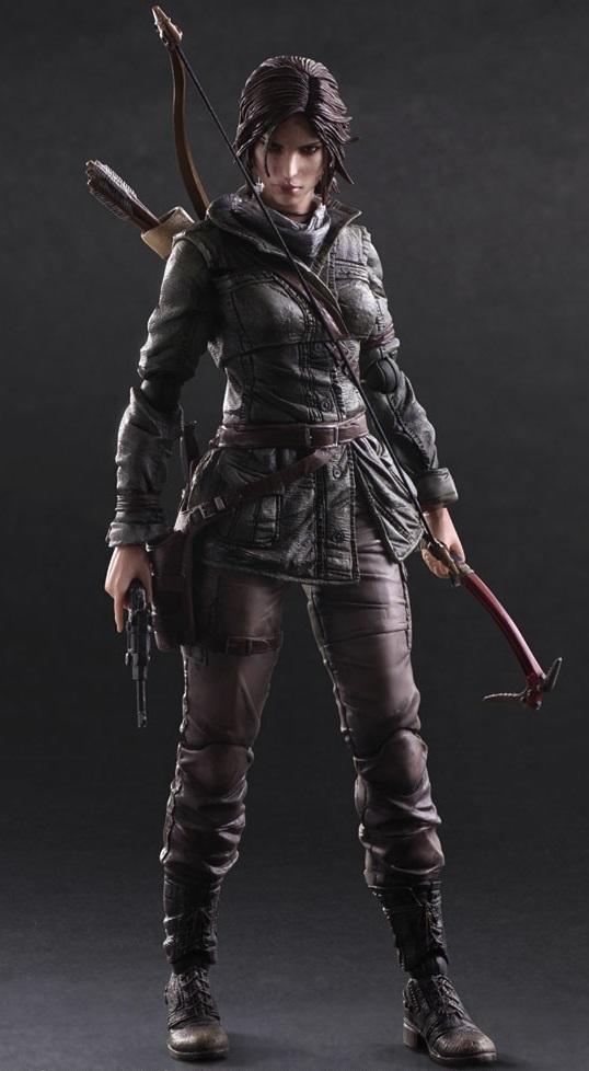 Фигурка Rise Of The Tomb Raider: Play Arts Kai Lara Croft (27 см)Лара Крофт – известная охотница за сокровищами, путешествующая по всему миру. Легендарная героиня давно обрела популярность и стала известная за пределами мира видеоигр.<br>