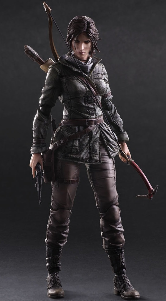 Фигурка Rise Of The Tomb Raider: Play Arts Kai Lara Croft (27 см) чайник lara lr00 05