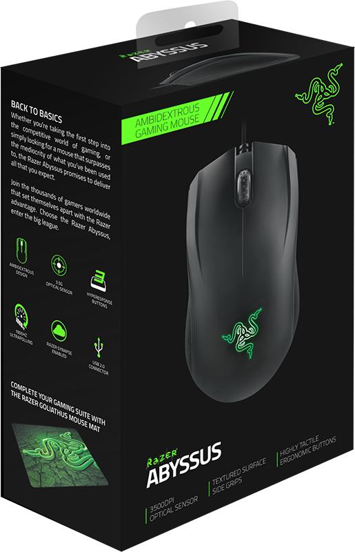 Мышь Razer Abyssus 2014 проводная оптическая игровая для PC