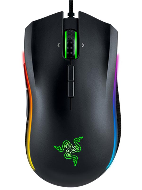 Мышь Razer Mamba Chroma Tournament проводная лазерная игровая для PC цена 2017