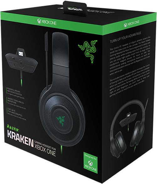 Гарнитура Razer Kraken Xbox One для Xbox One / PC от 1С Интерес