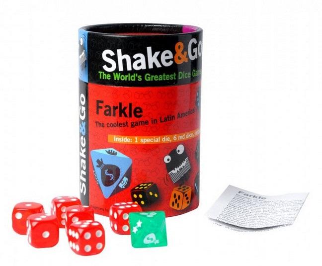 Настольная игра в кости ФарклВ игре Фаркл могут принимать участие от 2 до 6 человек. Победителем станет тот игрок, который первым соберет 1000 очков.<br>
