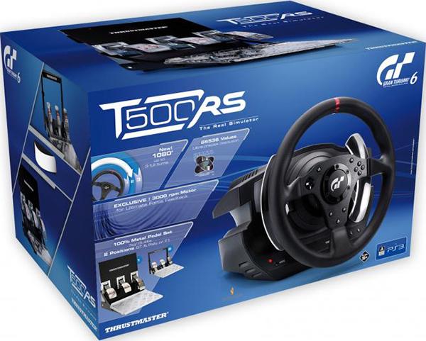 Гоночный руль Thrustmaster T500 RS GT Racing Wheel EU Version для РС / PS3