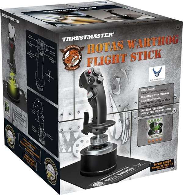 Джойстик Thrustmaster Hotas Warthog Flight Stick для PC hotas warthog