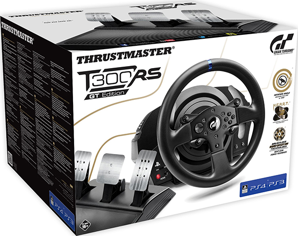 Гоночный руль Thrustmaster T300 RS Gran Turismo Adition EU Version для PS4 / PS3