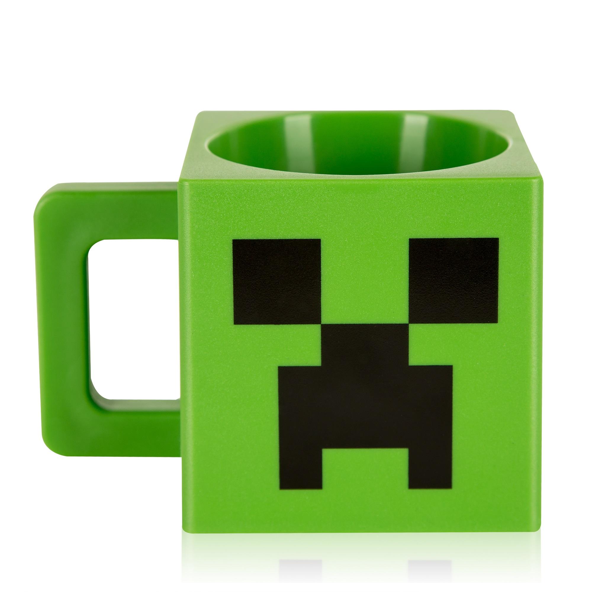 Кружка пластиковая Minecraft: Creeper (230 мл) фигурка minecraft adventure creeper 10 см